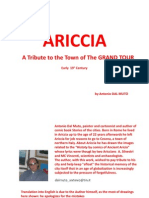 Tribute to Ariccia