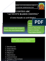 Costeo ABC - Modiicado 2