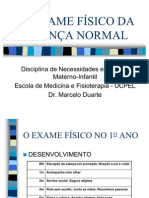 2oAno.aps II - O Exame Fisico Da Crianca Normal
