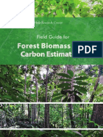 Field Guides - Forest Biomass and Carbon Estimation