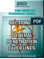 General Penetration Guidelines