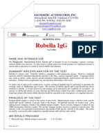 Rubella IgG 1301Z-Web