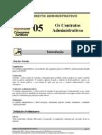 ADM 05 - Os Contratos Administrativos