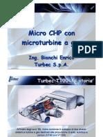BIANCHI TURBEC Microturbina Gas Biogas Biomassa