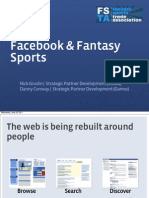 Facebook and Fantasy Sports