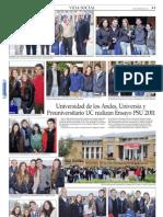 Ensayo PSU junio 2011 en Vida Social de El Mercurio