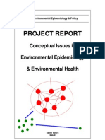 Conceptual Issues in Environmental Epidemiology and Environmental Health