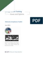 Nebraska Training Best Practices Factsheet