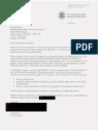 October 2010 letter from CBP Bersin to IBWC Drusina regarding Texas border wall