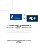 Sostenibilidad análisis FADSP 0611