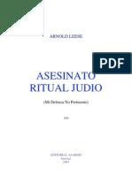 Asesinato Ritual Judio