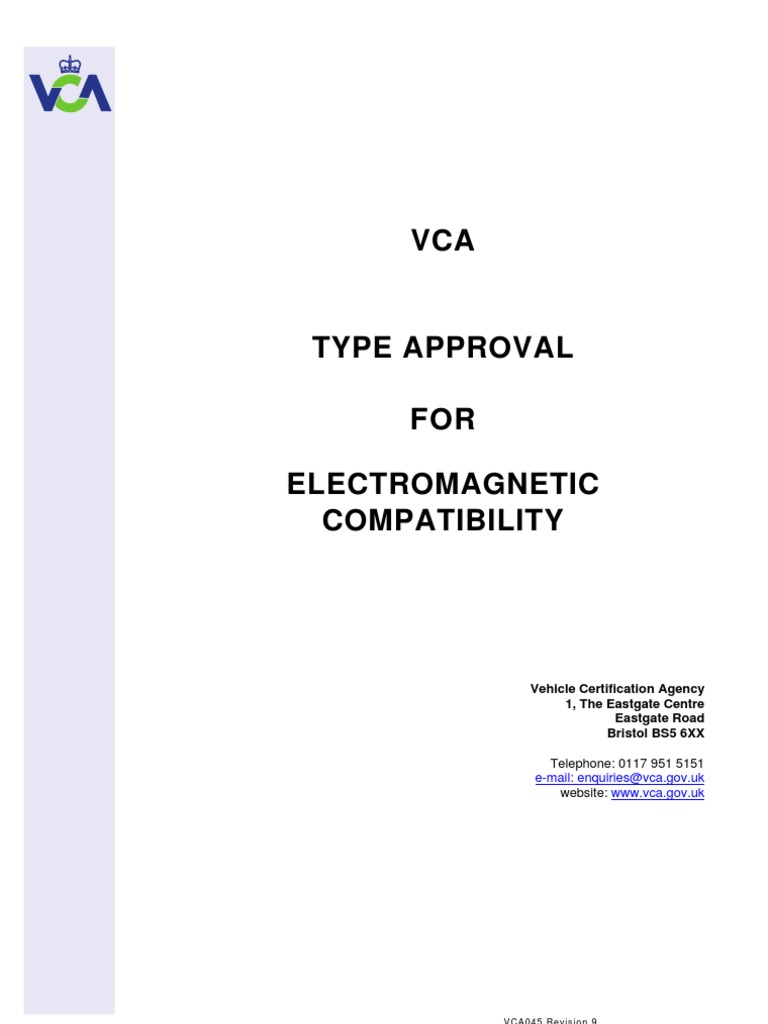 Vca045 electromagnetic compatibility iso 9000 production and vca045 electromagnetic compatibility iso 9000 production and manufacturing 1betcityfo Gallery