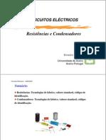 Resistencias e condensadores