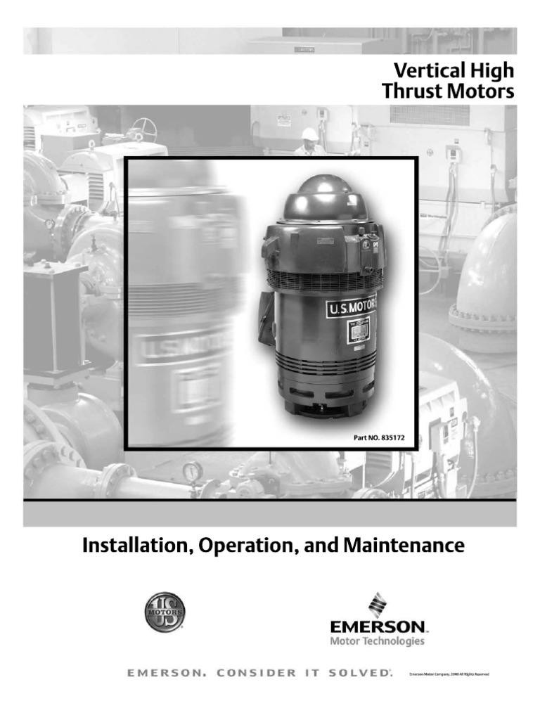 Us Vertical Motors In509 1d Bearing Mechanical Motor Oil Motorguide Mg 28 Wiring Diagram