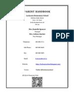 Parent Handbook 11-12