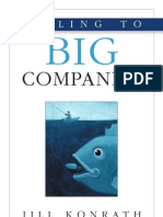 Selling to Big Companies Chapters 1 2