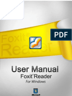 Fox It Reader 50 Manual