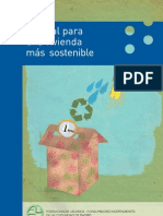 Manual Para Vivienda  Sostenible