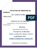 Diagnostico y Rectificacion Del Apdzje.