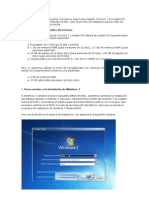 Instalar Windows 7 en Nuestro PC