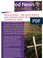 e-Good News issue 3c - Palm Sunday