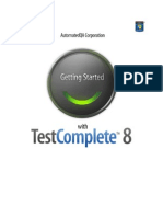 Getting Started With Test Complete