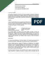 2009 Derechos por Servicios de Inspección y Vigilancia
