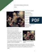 Análisis de Obra Barroca El Festín de Baltasar de Rembrandt