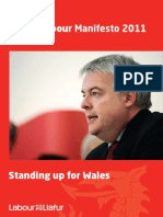 Welsh Labour Manifesto