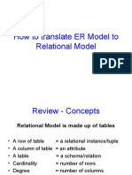 ER to Relational