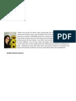Mensagem Formatura - Sâmella Camacho