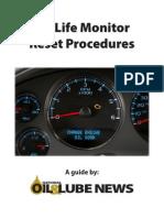 Oil Monitor Reset Procedures