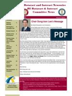 Boletin Comite Rotaract-Interact Periodo 2010/2011 - Junio 2011
