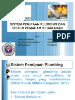 Sistem Pemipaan Plumbing Dan Sistem Pemadam Kebakaran
