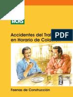 Accidente de Trabajo en Hora de Colacion