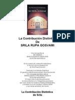 La Contribución Distintiva de Sri Rupa Gosvami