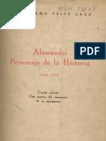 Alesandri Personaje de La Historia