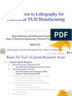 Introduction to Lithography for Nanometer VLSI Manufacturing_v3 Public Kt