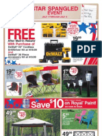 Seright's Ace Hardware Star Spangled Event Sale