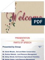 Parts of Speech Ppt4