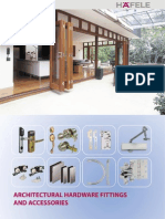 Architectural Hardware Fittings and Accessories