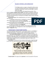 Aircraft Propeller Control and Operation