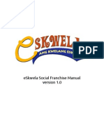 eSkwela Social Franchise Manual_Version 1.0