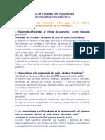 Texto Para Cartel de Talleres Con a 2010 2011