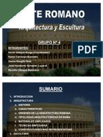 Arte Romano - Arquitectura y Escultura
