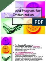 Expanded Program for Immunization Chd Report