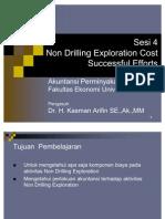 Sesi 4. Non Drilling Exploration Costs