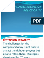 Employees Retention Policy of Itc