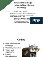 Bio Molecular Modeling 1