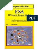 ESA Security Sdn Bhd Company Profile